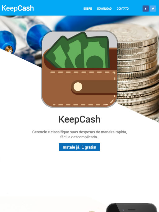 Cliente W3 Corp - KeepCash